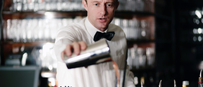 Barkeeper in Action